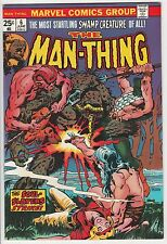 MAN-THING #6,MARVEL,PLOOG ART,FROM HIGH GRADE BRONZE COLLECTION!