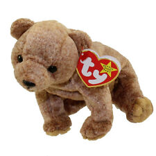 TY Beanie Baby - PECAN the Gold Bear (5.5 inch) MINT WITH ALL TAGS 1999