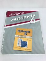 Abeka Homeschool Arithmetic 6 Curriculum and Lesson Plans 6th Grade