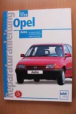 Opel Astra F Benzin 1.4 1.6 i bis 1994 Reparaturanleitung Handbuch