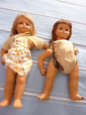 Bambole antiche anni 50 da restaurare o per pezzi di ricambio