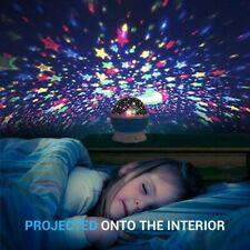 Sternenhimmel Projektor 360 Grad Romantische Nacht Lampe Projektion Geburtstag