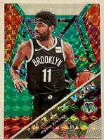 KYRIE IRVING 2019-20 Panini Mosaic Will to Win GREEN Prizm MINT HOT🔥MVP?
