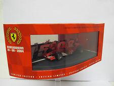 Ferrari 1/43 F1 Hungaroring 15-08-2004 Hotwheels B6223 M. Schumacher