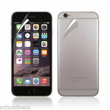"""New Improved Front and Back Clear PET iPhone 6 4.7"""" Screen Protectors set"""