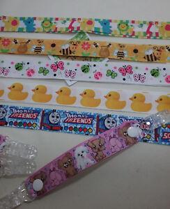MITTEN CLIPS x 1 pr Bees Ducks Cute dogs girls boys kids glove savers xmas gifts