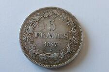 Belgique - Léopold Ier -  5 Francs  1847