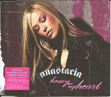 ANASTACIA Heavy on My Heart w/ UNRELEASE & FRENCH TRK & VIDEO CD single SEALED