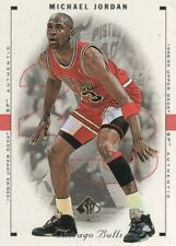 1998-99 SP Authentic Basketball #3 Michael Jordan Chicago Bulls