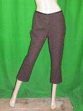 COMPTOIR DES COTONNIERS T 40 USA 8 Superbe pantalon7/8 doublé laine mélangée