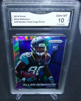 2014 Panini Prizm Allen Robinson Rookie Team Prizm  /50 GMA Graded Gem Mint 10