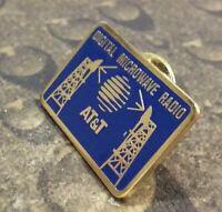 AT&T Digital Microwave Radio lapel pin badge
