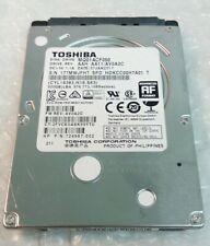 "500GB TOSHIBA MQ01ACF050 hard disc drive 7mm SATA 2.5"""