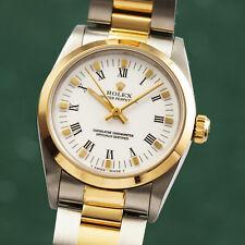Rolex Oyster Perpetual 31 Stahl Gold Automatik Damenuhr Ref. 67483 VP: 7700,- €