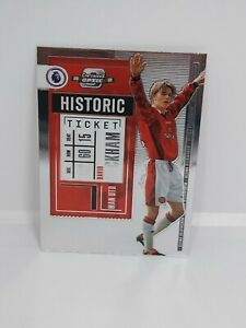 2021 Chronicles Contenders Optic Soccer DAVID BECKHAM HISTORIC (A) Man U