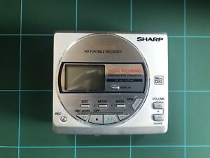 Sharp Portable MD-MT16 Mini disc Minidisc Player / Recorder