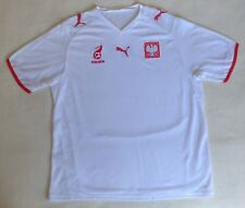 Poland National team 2007/2008 Home Football Jersey Puma Soccer Shirt Size XL