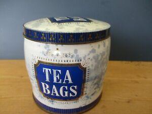 Vintage Littlewoods Tea Bag Tin