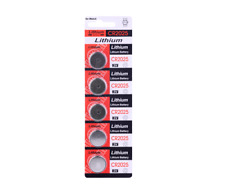 New Pack of 5x Lithium CR2025 L12 Batteries 3V Button Battery Coin Cell #582