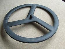 PDQ Carbon time trial / triathlon tt trispoke wheel - only 710 gms