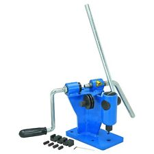 Chainsaw Chain Breaker and Spinner Combination with Adjustable Anvil