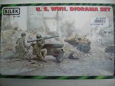 BILEK 998 U.S. WWII dioramenset 2 PERSONNAGES & 1 remorque - 1:35
