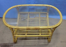 Less than 60cm Height Cane Conservatory Coffee Tables