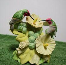 """Enesco """"Anna's Hummingbird"""" Ltd. Ed. Porcelain Musical #117072 - Mib"""