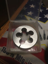"5/8-24 X 2"" HIGH SPEED STEEL ROUND ADJUSTABLE DIE"