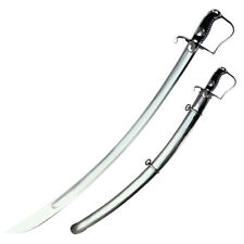 """New 88Ss Cold Steel 1796 Light Cavalry Saber 33"""" Carbon Steel Blade with Steel"""