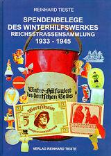 Spendenbelege des Winterhilfswerkes Reichsstrassensammlung 1933-45 Belege Buch