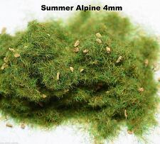 WWS Summer Alpine Static Grass 4mm 20g G,O,HO/OO,TT,N.Z Model Basing Landschafts