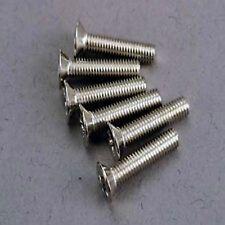 3179 TRAXXAS R/C AUTO RICAMBI E ACCESSORI 3x15mm MACCHINA Svasati VITI 10pcs