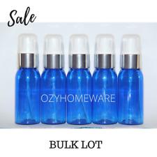 20x 50ml Blue PET Bottle Boston Tall with Silver Pump Bulk Lot