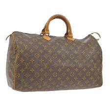 LOUIS VUITTON SPEEDY 40 HAND BAG MONOGRAM CANVAS LEATHER M41522 832 SA A49068