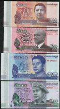 Cambodia Kambodscha, P 65-68: 100+500+1000+5000 Riels