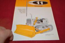 Allis Chalmers HD-11 Crawler Tractor Dealer's Brochure YABE14 ver23