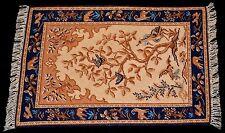 "Miniature carpet rug dollhouse petite point 1:12 10"" L  approx 30,000+ stitches"
