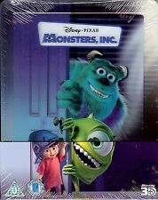 Disney Monsters Inc. Limited Edition SteelBook w/Lenti Card (Region A, B & C UK)