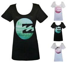 Billabong Cotton T-Shirts for Women