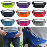 Outdoor Bauchtasche Hüfttasche Sicherheit Gürteltasche Umhängetasche Tasche Zip