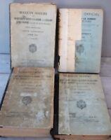 Lot 4 livres Militaria Bulletin Officiel Guerre Aviation Colonies 1941 1944