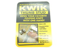 Kwik Thumb Stud USA Stainless Folding Hunter Knife Blade Making Part