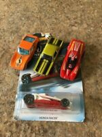 Vintage Matchbox and Hot Wheels Cars from the 70s/80s - New Honda - Lot of 4