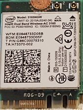 Toshiba G86C00075310 Wireless-AC 3165 3165NGW abgn+ac Bluetooth 4.2 PCIe NGFF