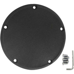 Drag Specialties Wrinkle Black Derby Cover for 1999-2018 Harley Big Twin