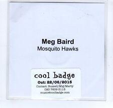 (GP23) Meg Baird, Mosquito Hawks - 2015 DJ CD