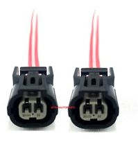 2pcs- IAT ECT Vtec connector plug pigtail For HONDA ACURA civic element K20 K24