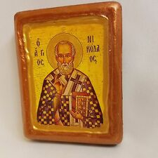 Nicholas The Wonderworker of Myra Saint Nikolas Byzantine Greek Orthodox Icon