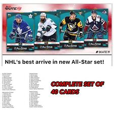 18-19 ALL STAR COMPLETE SET OF 40 CARDS RINNES++ Topps NHL Skate Digital Card